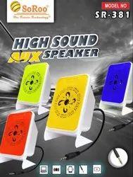 Soroo Aux Speaker, SR-317, Rs 119 /piece, INDIA SIGNAL | ID