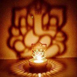 Diwali Decorative Metal Diya