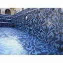 Designer Swimming Pool Glass Mosaic Tiles