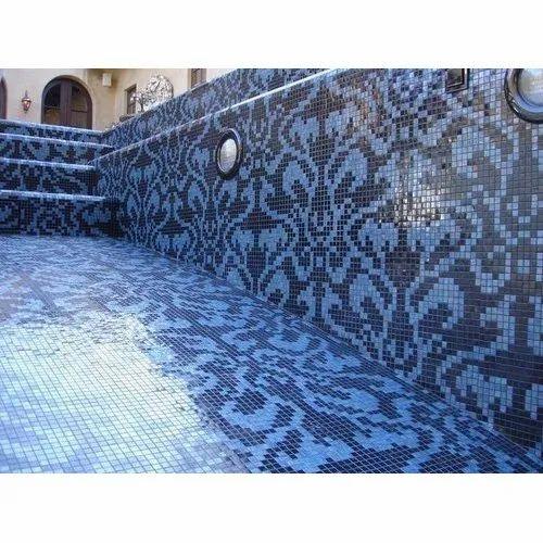 Swimming Pool Tiles - Designer Swimming Pool Glass Mosaic ...