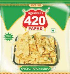 Agarwal Special Papad Katran, Snacks And Namkeen   Agrawal