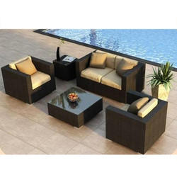 Garden Wicker Sofa Set