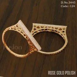 Designer American Diamond Bridal Bracelet