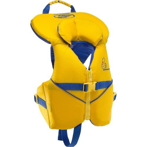 Yellow, Blue 200D Liner And 200D Nylon Outer Shell Advanced Infant Life Jacket