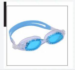 Arrowmax Sky Blue and White Anti Fog Swimming Goggle