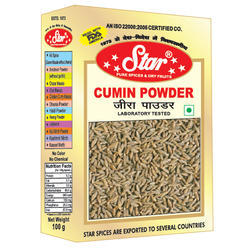 Star Cumin Powder, 100g, Packaging: Box