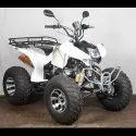 White ATV Motorcycle