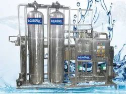 2000 LPH Industrial Water Plant