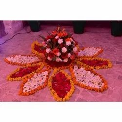 Flower Decoration Service, in Local