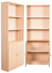 Wooden book cabinets