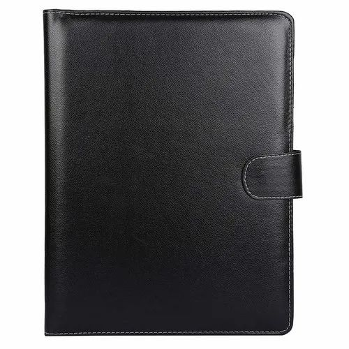 Magnetic Clip Faux Leather Convocation File Folder, Paper Size: A4