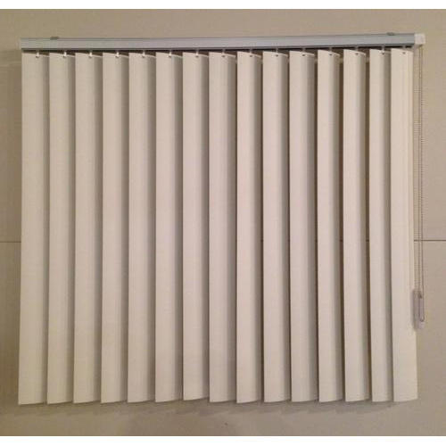 White Pvc Vertical Window Blinds Rs 50 Square Feet Sameer