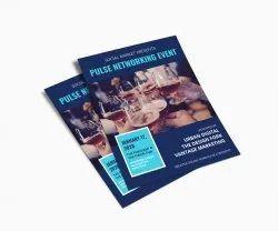 Blue Paper Pamphlet
