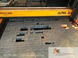 Mild Steel CNC Plates Cutting , Thickness: 6 - 200 mm
