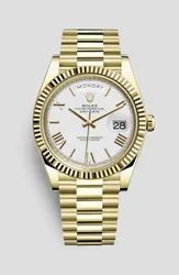 Yellow Gold Rolex Day Date 40 Watch