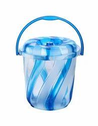 Plastic Spiral Bucket 11 Ltr