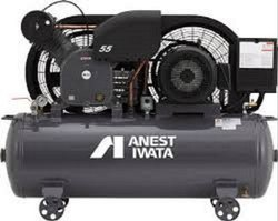 AC Three Phase 7.5 HP Anest Iwata Air Compressor