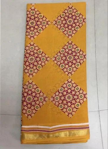 Pure Cotton (DNHpu1) Saree