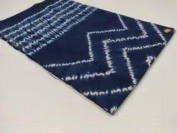 For Textile Cotton Indigo Shibori Fabric