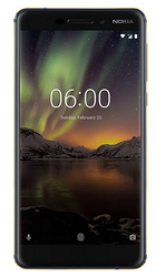 Blue-Gold Nokia 6.1 Mobile Phone