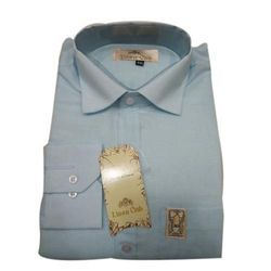 Sky Blue Formal Shirts