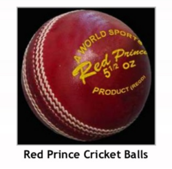 Red Prince Cricket Ball