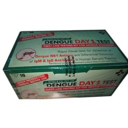 Plastic J Mitra Dengue Day 1 Testing kit, for Used to test