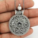 925 Sterling Silver Handmade Pendant