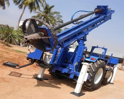 Prime Hitech Tractor Mounted Piling Rig For Water Well