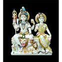 Makrana Marble Shiv Parivar Moorti