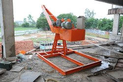 Altech Equipment Orange Sand And Brick Lifting Machine, Lifting Capacity: 300