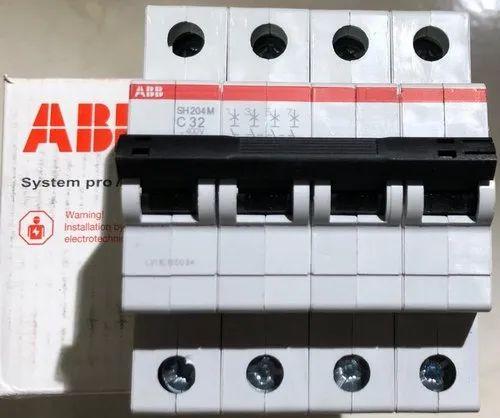 Four Pole 6-32 Amps  MCB
