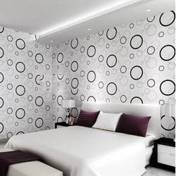 PVC Printed Interior Wallpaper for Hotel