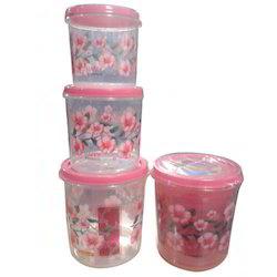 Nakoda Plastic Storage Container Set