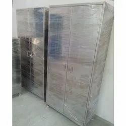 Glossy Floor Mounted Stainless Steel Apron Cabinets