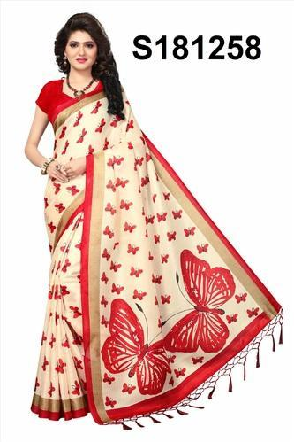 4f94ba4c1 Mysore Silk Printed Saree