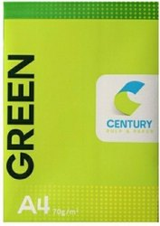 White Century A4 Size Paper, Packaging Size: 500 Sheets per pack, 70.0 g/m2