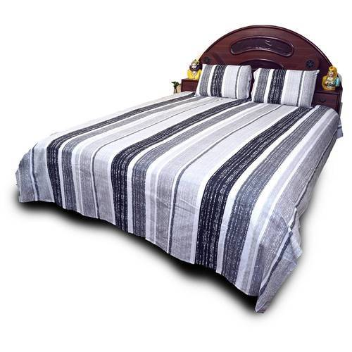 Designer Cotton Double Bed Sheet Set 711
