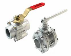 Audco Ball Valve 3 Piece Design Screwed End, Packaging Type: Box