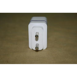 White , Mobile Charger Adaptor