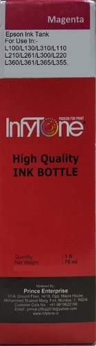 Infytone T6643 Magenta Epson Compatible Ink Bottle