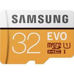 Samsung Memory Card, Size: MicroSD