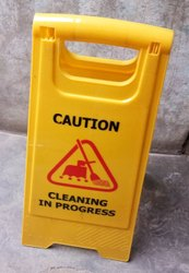 Cleaning in progress Sign Boards