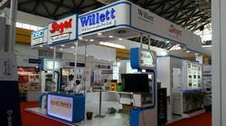 Wooden Custom Exhibition Stall Service, Size: 40 Sqm