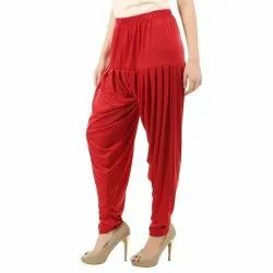 Rayon Ladies Patiala Pant
