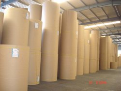Natural Brown Kraft Paper Roll for Making Bags, GSM: 80-160