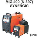 Semi-automatic Jasic Mig-400 Synergic Welding Machine, 230v