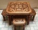 Brown Wooden Dining Room Table