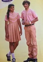 Sparsh Fab Summer Poly Cotton School Uniform, Size: 22 To 42