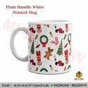 Ceramic Multicolor Plain Photo Mug, For Home